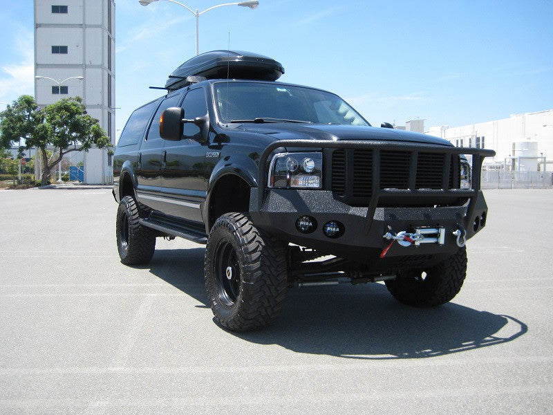 Ford Excursion Front Base Bumper Iron Bull Bumpers - 2005 excursion