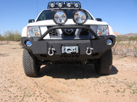 2009-2015 Nissan X-Terra Front Base Bumper (Grille must be changed) - Iron Bull Bumpers