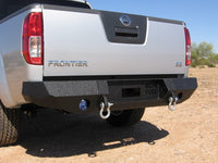 2005-2017 Nissan Frontier Rear Base Bumper Without Sensor Holes - Iron Bull Bumpers