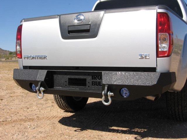 2005-2017 Nissan Frontier Rear Base Bumper Without Sensor Holes