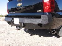 2002-2013 Chevrolet Avalanche (ALSO FOR NON- CLADDED VERSION) Rear Base Bumper With Sensor Holes