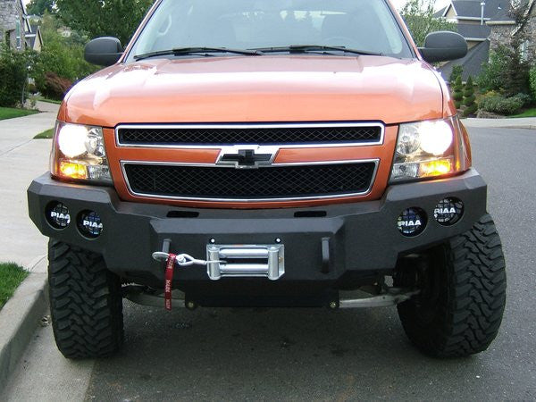 2007 2014 Chevrolet Avalanche Front Base Bumper Iron