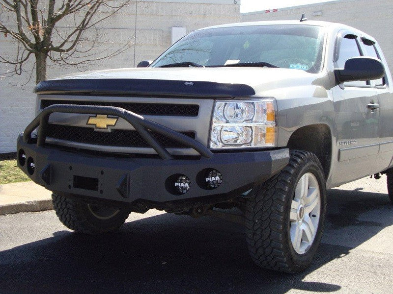 2007-2013 Chevrolet 1500 Front Base Bumper - Iron Bull Bumpers
