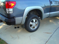 2007-2013 Toyota Tundra Rear Base Bumper Without Sensor Holes