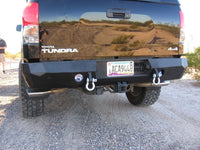 2007-2013 Toyota Tundra Rear Base Bumper With Sensor Holes - Iron Bull Bumpers