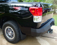 2007-2013 Toyota Tundra Rear Base Bumper With Sensor Holes
