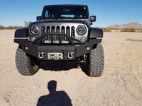 2007-2020 Jeep JK Wrangler Front Base Bumper - Iron Bull Bumpers