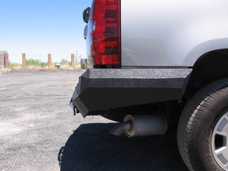 2007-2014 Chevrolet Tahoe Rear Base Bumper With Sensor Holes