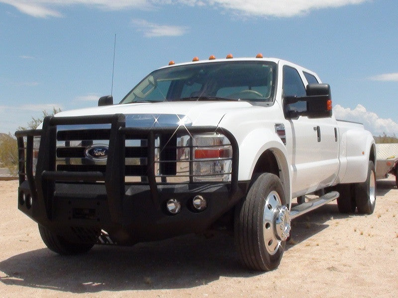 2008-2010 Ford F-450/550 Front Base Bumper With Fender Flare Adapters