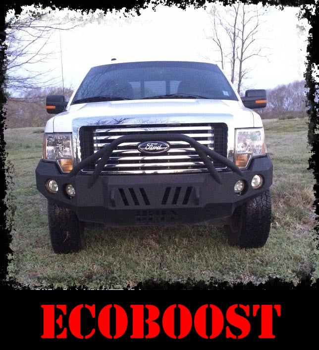 ADD-ON Ecoboost Front Plate - Iron Bull Bumpers