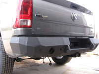 2009-2017 Dodge 1500 Rear Base Bumper With Sensor Holes - Iron Bull Bumpers