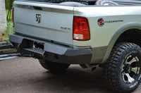 2010-2017 Dodge 2500/3500/4500 Rear Base Bumper With Sensor Holes