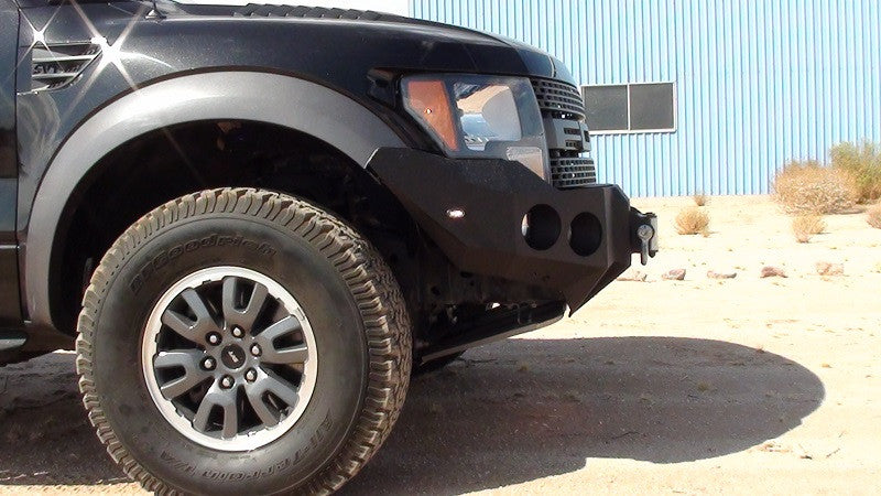 2010-2014 Ford Raptor Front Base Bumper - Iron Bull Bumpers