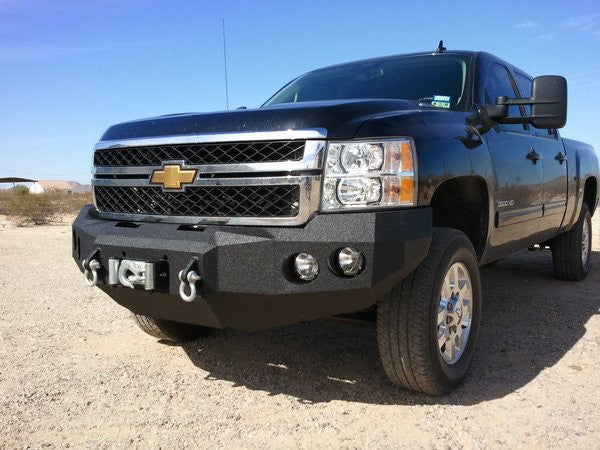 2011-2014 Chevrolet 2500/3500 Front Base Bumper - Iron Bull Bumpers