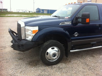 2011-2016 Ford F-450/550 Front Base Bumper With Fender Flare Adapters - Iron Bull Bumpers