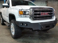2014-2015 GMC 1500 Front Base Bumper With Sensor Holes - Iron Bull Bumpers