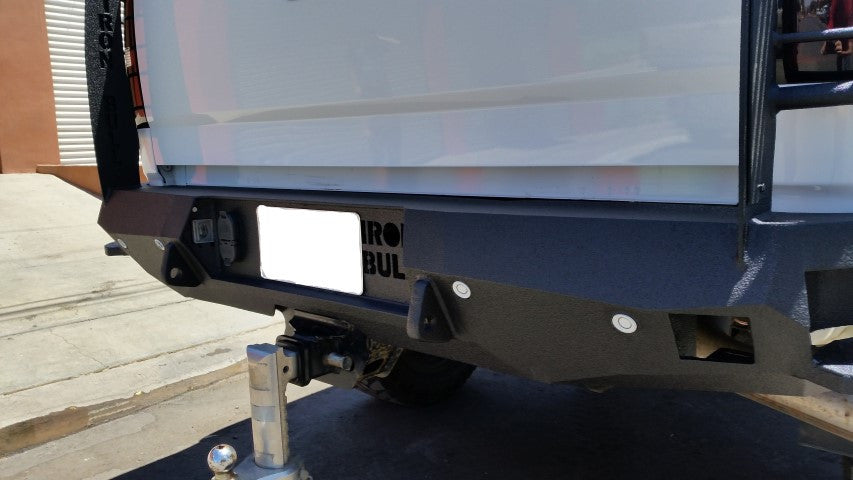 2014-2021 GMC 1500 Rear Base Bumper With Sensor Holes