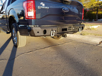 2015-2022 Ford F-150 Rear Base Bumper With Sensor Holes