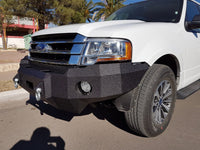 2015-2021 Ford Expedition Front Base Bumper With Sensor Holes