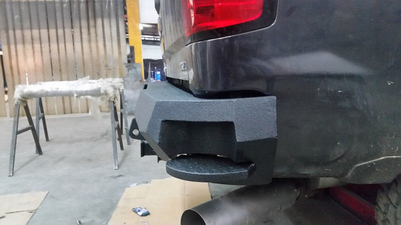 2014-2021 Chevrolet 1500 Rear Base Bumper Without Sensor Holes
