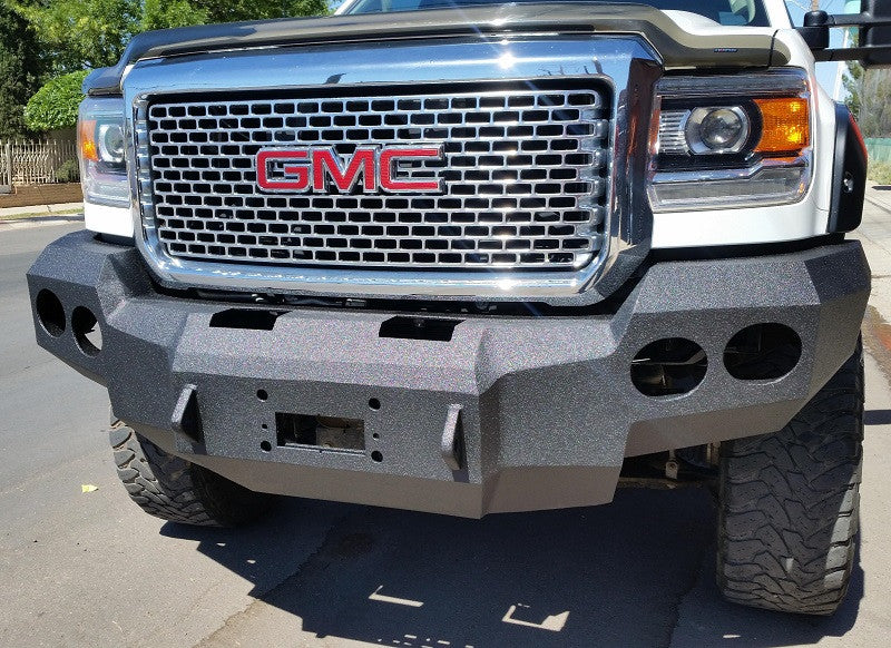 gmc bumpers road off up badger leaders in add the chevy honey honeybadger rear aftermarket truck bumper offroad
