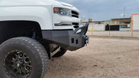 2016-2022 Chevrolet 1500 Front Base Bumper With Sensor Holes