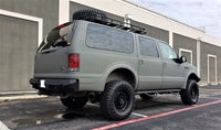 2000-2005 Ford Excursion Rear Base Bumper With Sensor Holes