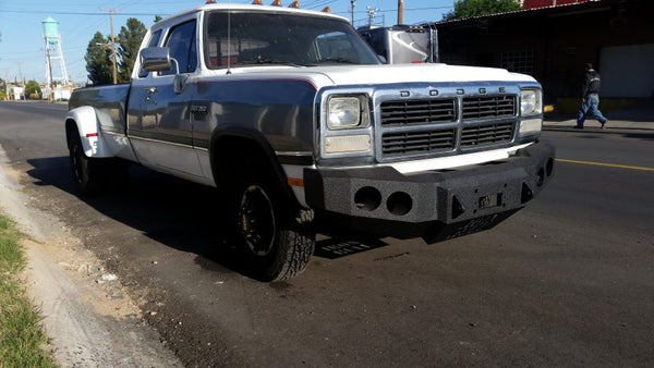 X on 2001 Dodge Dakota Front And Rear Bumpers