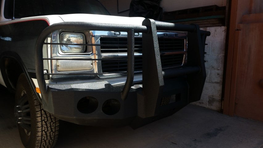 1981-1994 Dodge 1500 Front Base Bumper
