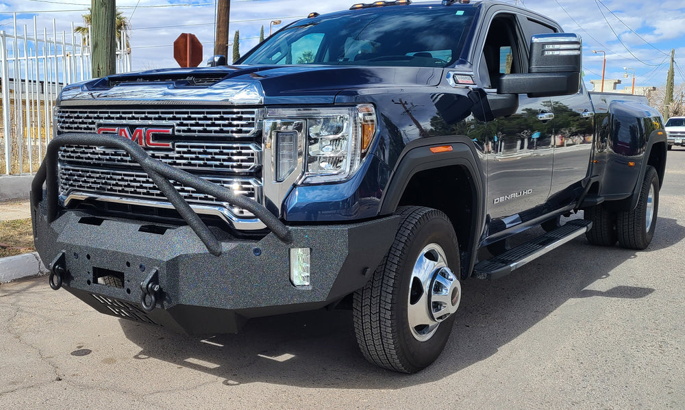 2020-2024 GMC Denali 2500/3500 Front Base Bumper With Factory Fog Light Cutouts