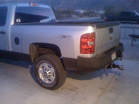 2007-2014 Chevrolet 2500/3500 Rear Base Bumper With Sensor Holes - Iron Bull Bumpers