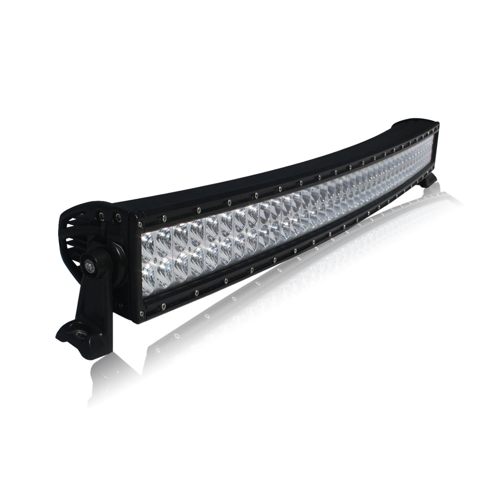 ACCESSORY 32 & 42 Inch Curved LED Light Bar - Iron Bull Bumpers - ACCESSORY - Metal bumper for heavy duty trucks Perfect for CITY/OFF-ROAD applications with Light Buckets and Winch Mount included