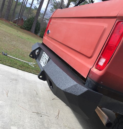 1973-1979 Ford F-150 Rear Base Bumper