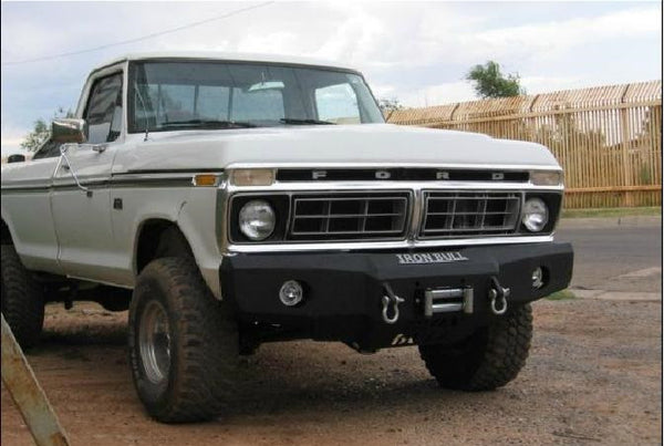 ford iron bull bumpers rh ironbullbumpers com Ford F-350 Front Bumper Replacements Ford F-250 Front Bumper Assembly