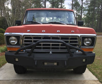 1973-1979 Ford F-150 Front Base Bumper - Iron Bull Bumpers