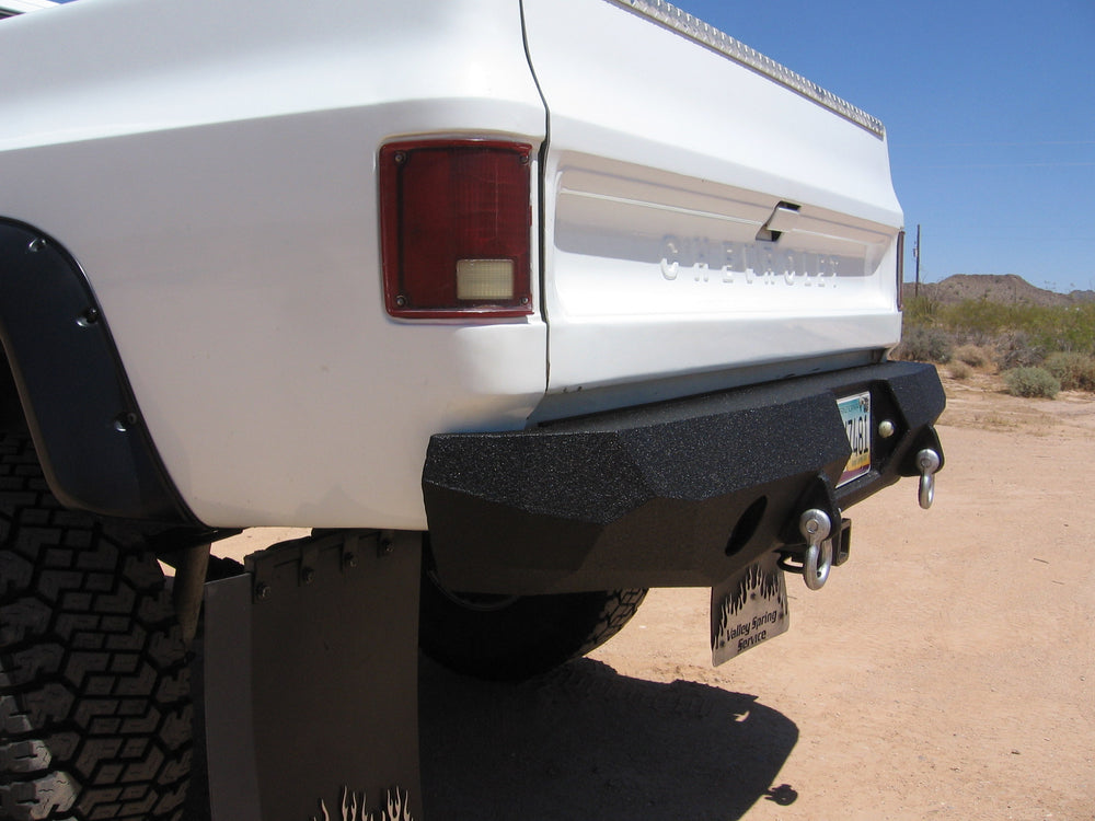 1973-1987 Chevrolet Blazer Rear Base Bumper
