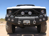 1973-1980 Chevrolet 1500 Front Base Bumper - Iron Bull Bumpers