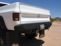 1981-1987 Chevrolet 1500 Rear Base Bumper