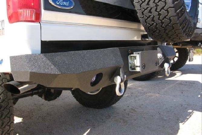 1987-1996 Ford F-150 Rear Base Bumper - Iron Bull Bumpers