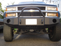 1988-1999 Chevrolet 2500/3500 Front Base Bumper - Iron Bull Bumpers