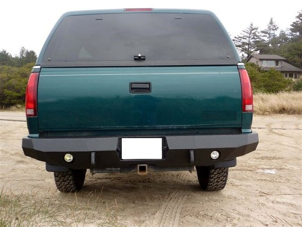 1992-1998 Chevrolet Suburban Rear Base Bumper - Iron Bull Bumpers