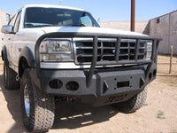 1992-1996 Ford Bronco Front Base Bumper