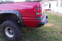 1994-2002 Dodge 2500/3500 Rear Base Bumper - Iron Bull Bumpers