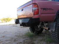 1995-2004 Toyota Tacoma Rear Base Bumper - Iron Bull Bumpers