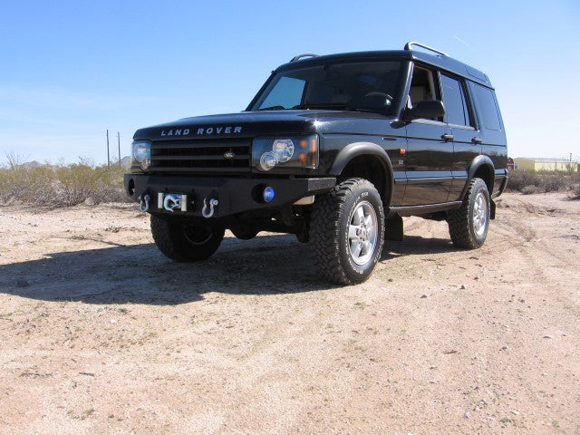 1995-2005 Land Rover Discovery II Front Base Bumper - Iron Bull Bumpers