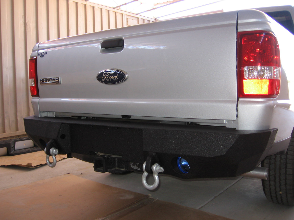 Ford ranger iron bull bumpers 1993 2012 ford ranger rear base bumper publicscrutiny Image collections