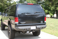 2000-2005 Ford Excursion Rear Base Bumper Without Sensor Holes