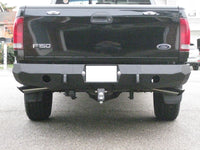 1999-2016 Ford F-450/550 Rear Base Bumper With Sensor Holes - Iron Bull Bumpers