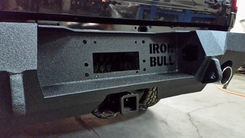 2009-2017 Dodge 1500 Rebel/Sport Rear Base Bumper With Sensor Holes
