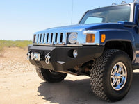2005-2010 Hummer H3/H3T Front Base Bumper - Iron Bull Bumpers